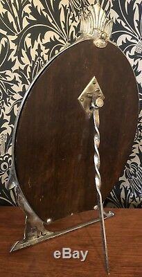 WMF Jugendstil / Art Nouveau Silver Plated Mirror C 1900