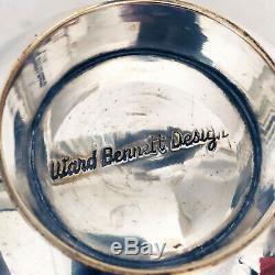 Ward Bennett Silver Plate Bowl