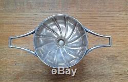 Was Benson Rare Silver Plated Bon Bon Dish Signed