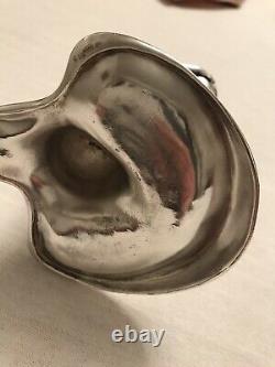 Wmf Silver Plated Figural Cigar Lighter
