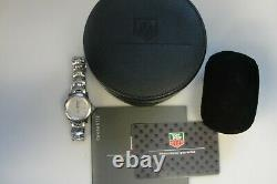 Women's Tag Heuer Link Wristwatch Mother of Pearl and Full Cut Diamonds WJF1317