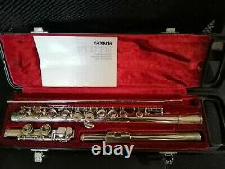 Yamaha YFL211S Silver Plated Flute In Original Hard Case