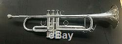 Yamaha Ytr 6335 Silver Plated Trumpet Professional Series In Original Box